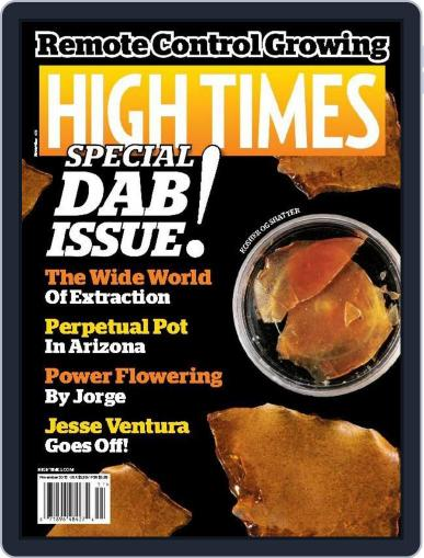 High Times (Digital) November 1st, 2015 Issue Cover
