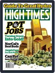 High Times (Digital) Subscription October 1st, 2015 Issue