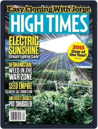 High Times (Digital) September 1st, 2015 Issue Cover