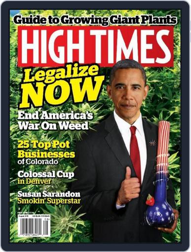 High Times August 1st, 2015 Digital Back Issue Cover