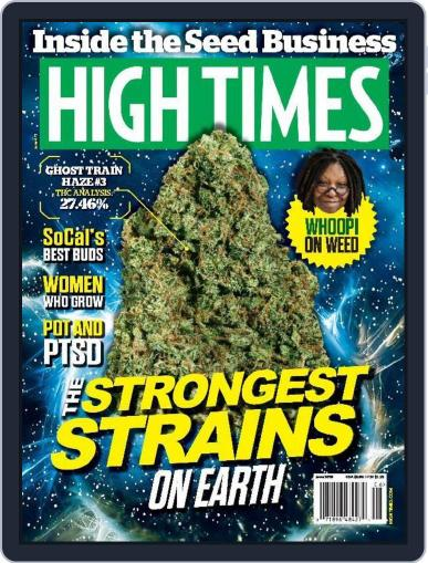 High Times (Digital) June 1st, 2015 Issue Cover