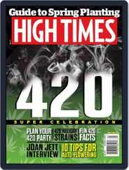 High Times (Digital) Subscription May 1st, 2015 Issue