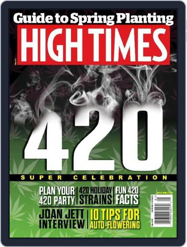 High Times May 1st, 2015 Digital Back Issue Cover