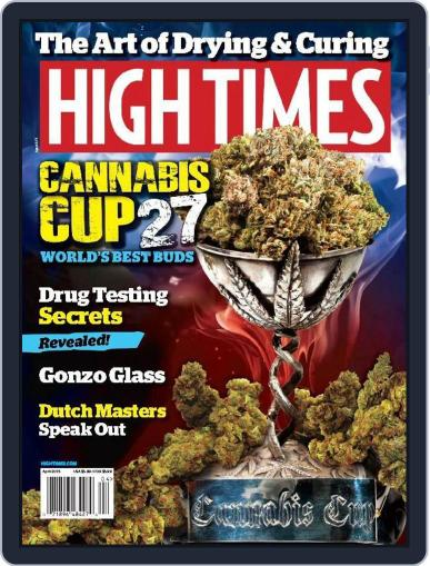 High Times (Digital) April 1st, 2015 Issue Cover