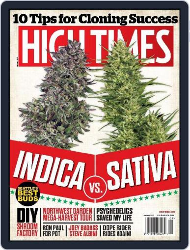 High Times (Digital) January 1st, 2015 Issue Cover