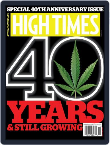 High Times (Digital) November 1st, 2014 Issue Cover