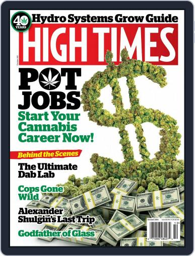 High Times October 1st, 2014 Digital Back Issue Cover