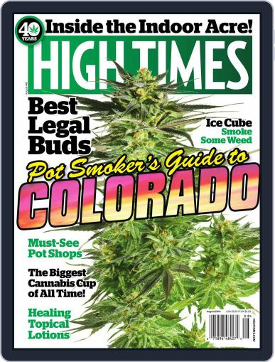 High Times (Digital) August 1st, 2014 Issue Cover