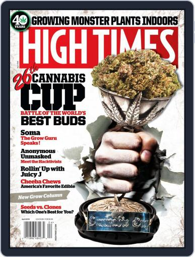 High Times February 26th, 2014 Digital Back Issue Cover