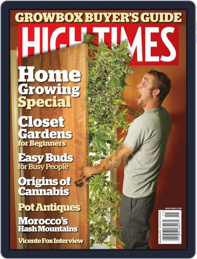 High Times September 11th, 2013 Digital Back Issue Cover