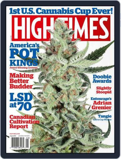 High Times June 11th, 2013 Digital Back Issue Cover