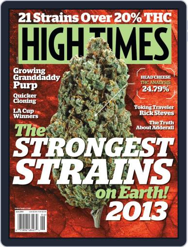 High Times April 16th, 2013 Digital Back Issue Cover