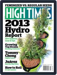 High Times (Digital) Subscription December 18th, 2012 Issue