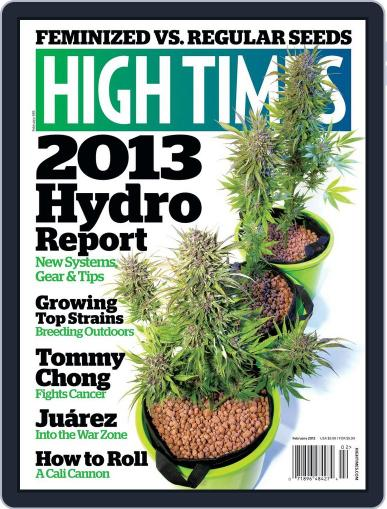High Times (Digital) December 18th, 2012 Issue Cover