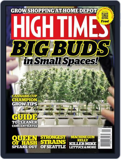 High Times November 12th, 2012 Digital Back Issue Cover