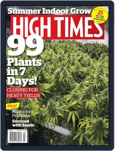 High Times May 16th, 2012 Digital Back Issue Cover