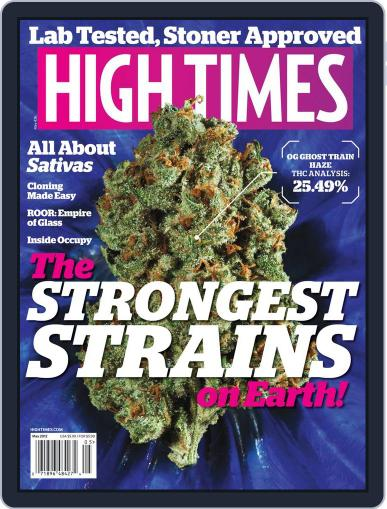 High Times March 15th, 2012 Digital Back Issue Cover