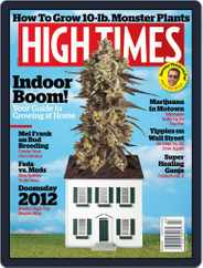 High Times (Digital) Subscription January 17th, 2012 Issue