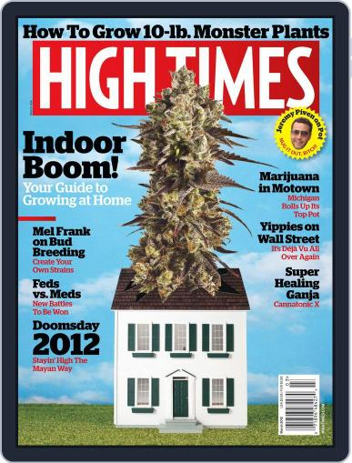 High Times (Digital) January 17th, 2012 Issue Cover