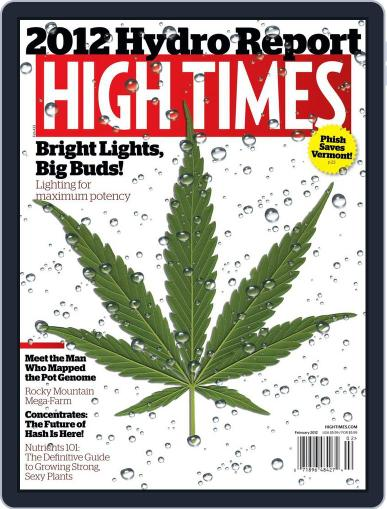 High Times (Digital) December 13th, 2011 Issue Cover