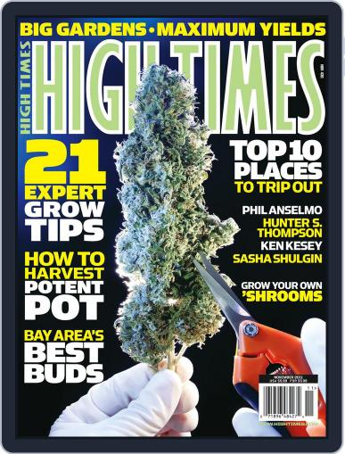 High Times September 19th, 2011 Digital Back Issue Cover