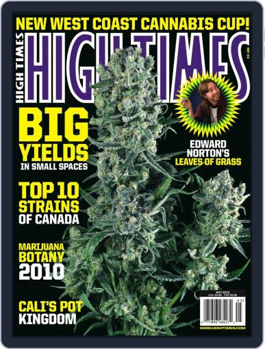 High Times (Digital) March 16th, 2010 Issue Cover