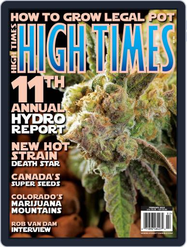 High Times (Digital) December 15th, 2009 Issue Cover