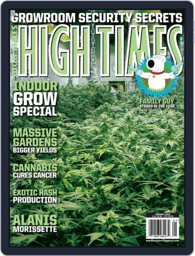 High Times November 17th, 2009 Digital Back Issue Cover