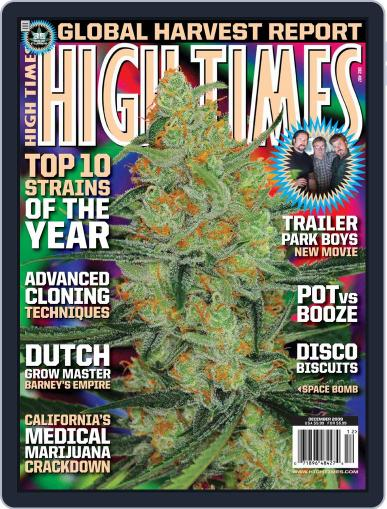 High Times October 13th, 2009 Digital Back Issue Cover