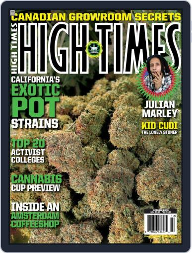 High Times (Digital) August 18th, 2009 Issue Cover