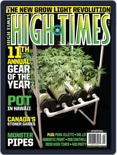 High Times (Digital) July 14th, 2009 Issue Cover