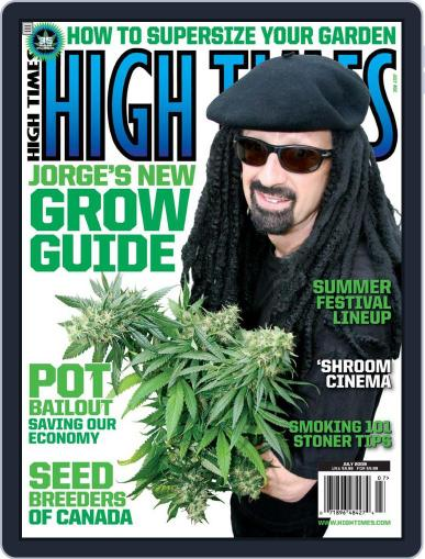 High Times (Digital) May 19th, 2009 Issue Cover