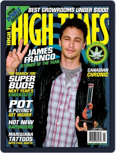 High Times November 18th, 2008 Digital Back Issue Cover