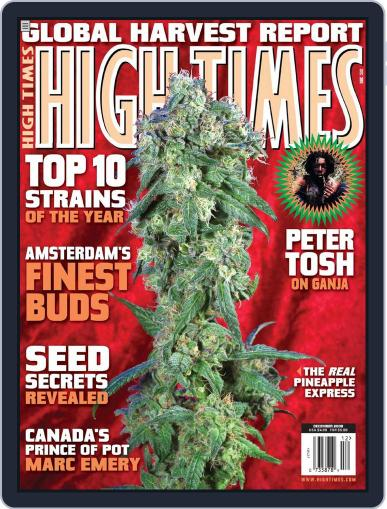 High Times October 14th, 2008 Digital Back Issue Cover