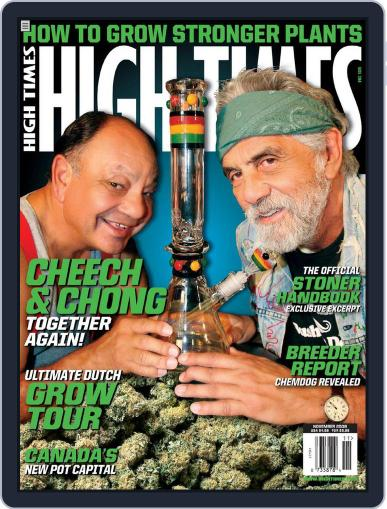 High Times (Digital) September 16th, 2008 Issue Cover