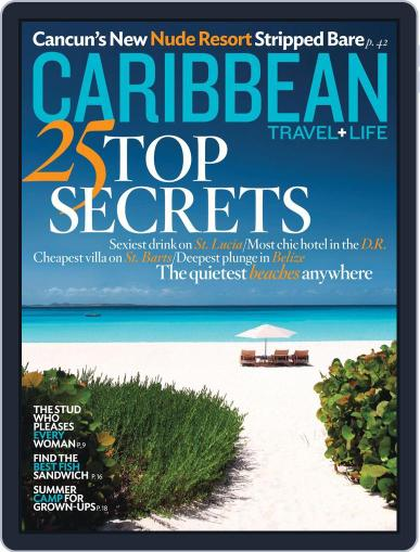 Caribbean Travel & Life July 10th, 2012 Digital Back Issue Cover