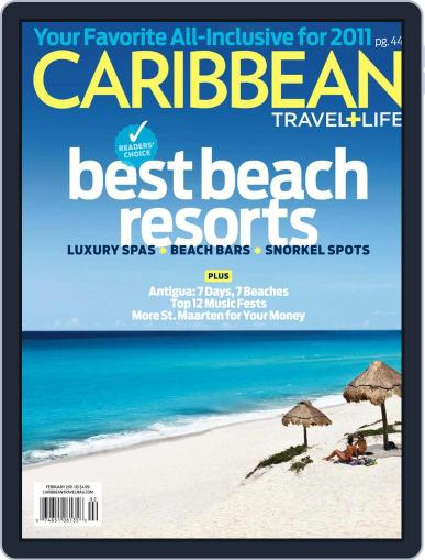 Caribbean Travel & Life (Digital) December 11th, 2010 Issue Cover