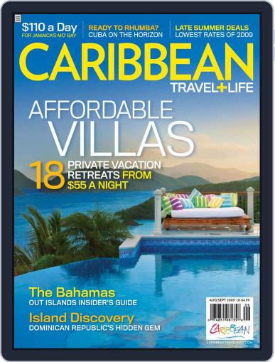 Caribbean Travel & Life July 4th, 2009 Digital Back Issue Cover