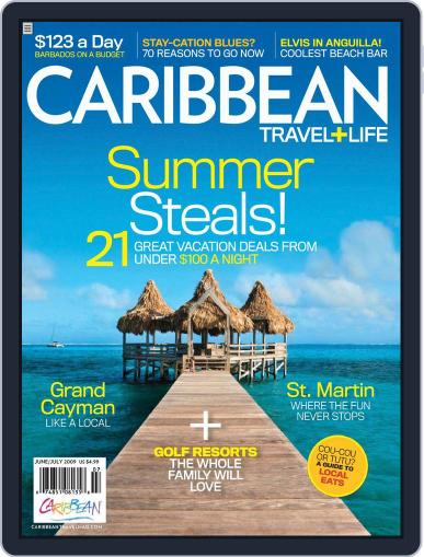 Caribbean Travel & Life (Digital) July 1st, 2009 Issue Cover