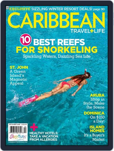 Caribbean Travel & Life October 20th, 2008 Digital Back Issue Cover