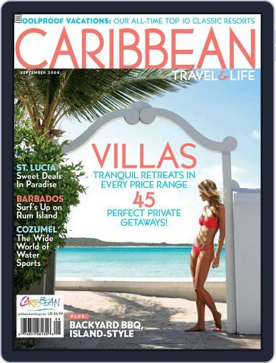 Caribbean Travel & Life (Digital) July 8th, 2008 Issue Cover