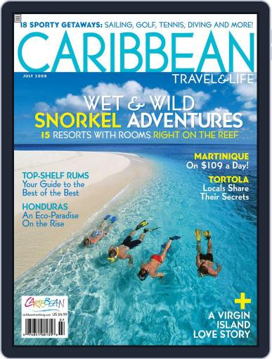Caribbean Travel & Life (Digital) May 9th, 2008 Issue Cover