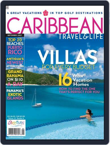 Caribbean Travel & Life June 26th, 2007 Digital Back Issue Cover