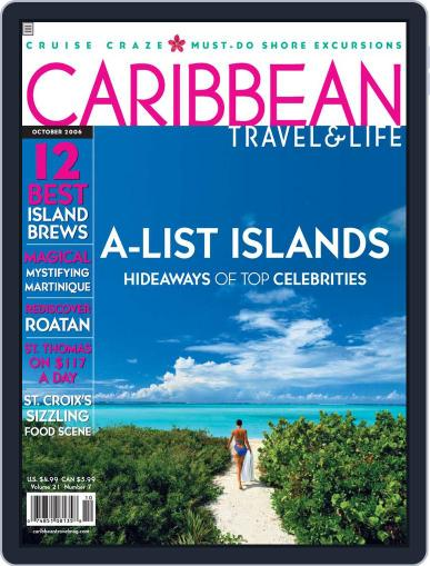 Caribbean Travel & Life August 9th, 2006 Digital Back Issue Cover
