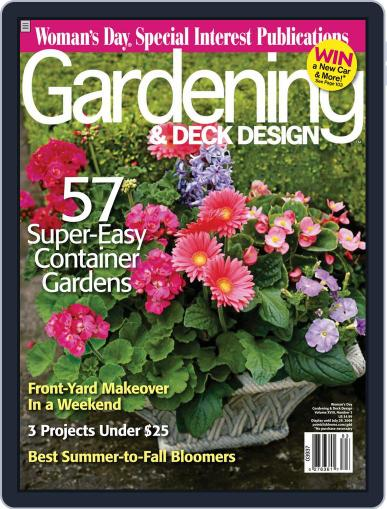 Gardening & Outdoor Living (Digital) May 13th, 2008 Issue Cover