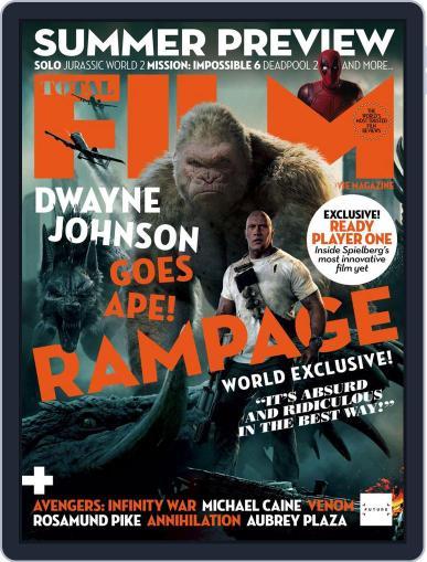 Total Film April 1st, 2018 Digital Back Issue Cover