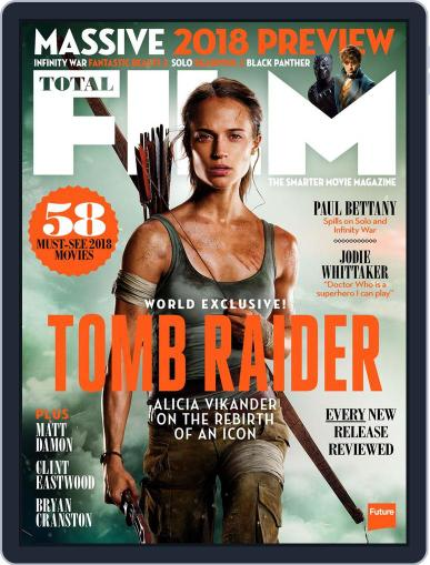 Total Film (Digital) January 1st, 2018 Issue Cover