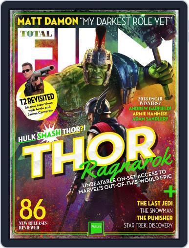 Total Film (Digital) November 1st, 2017 Issue Cover