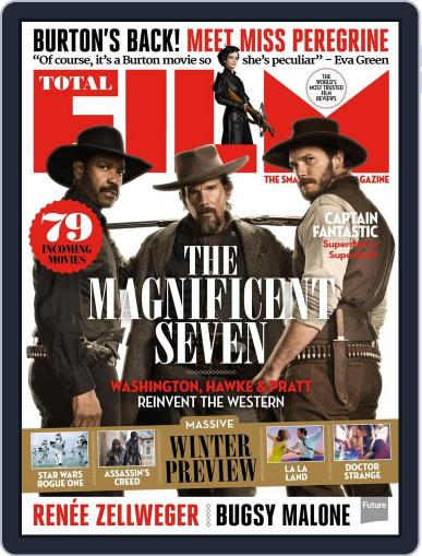 Total Film (Digital) July 29th, 2016 Issue Cover