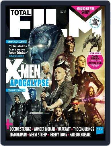 Total Film (Digital) May 6th, 2016 Issue Cover
